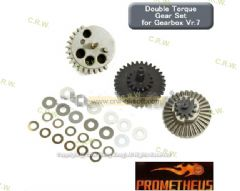 Prometheus EG Double Torque Up Hard Gear Set for Marui M14 (Ver 7)
